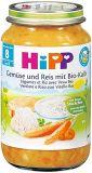 HIPP Gemüse und Reis mit Kalbfleisch 8M Bio Glas, 220 g