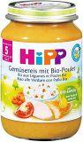 HIPP Gemüsereis mit Bio Poulet Glas, 190 g
