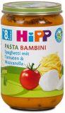 HIPP Pasta Bambini Spaghetti Tomate Mozzarella 8M Glas, 220 g